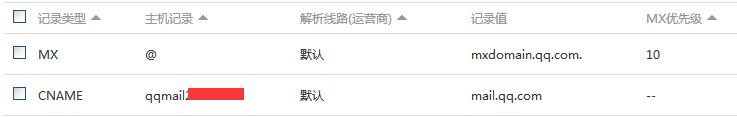阿里云域名创建QQ域名邮箱的图文教程 技术文档 第6张