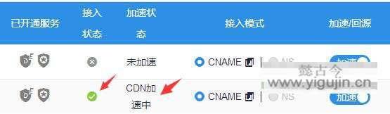 上海云盾(YUNDUN)云加速CNAME接入设置教程 技术文档 第9张